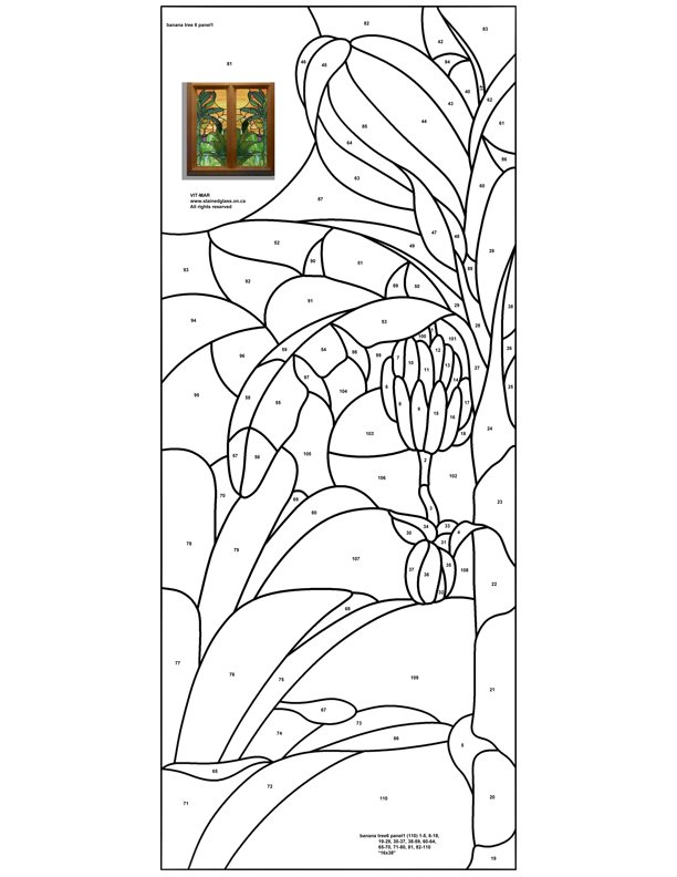 Stained Glass Patterns For Free Tiffany Patterns For Free 959
