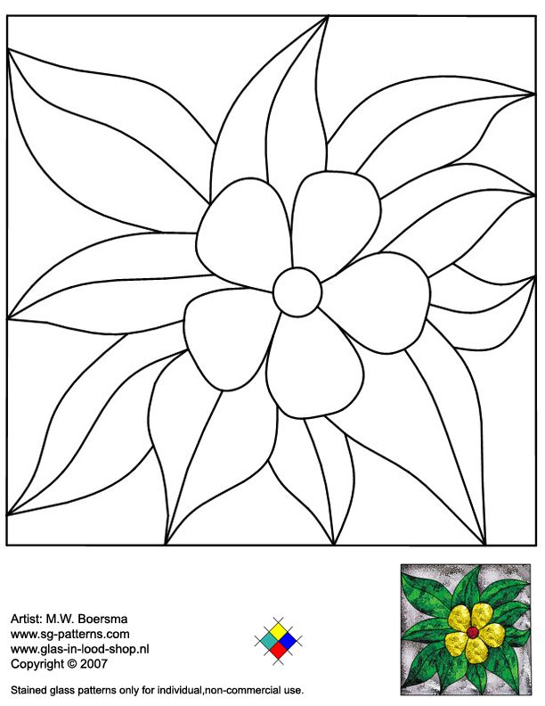 Tiffany Patterns for FREE 968 Flower.jpg