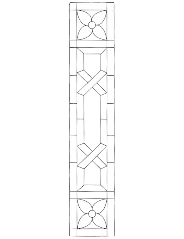 Stained Glass Patterns For Free Glass Pattern 474