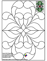 Stained Glass Patterns for FREE 026