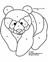 Tiffany Patterns for FREE 952 Bear